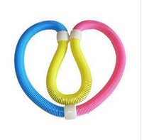 Wholesale Fashion spring hula hoop magic slimming sports soft hula hoop