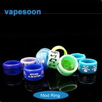 Wholesale decorative ring silicon band vape ring with various patterns silicon ring VS lanyard silicon ring