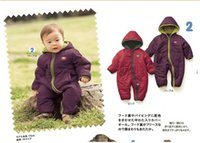 floor pads - winter baby long sleeve romper floors and cotton kids one piece Cotton padded jacket toddler boys clothing colour GR135