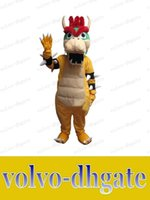 bowser costume - LAI Super Mario Bros King Bowser Mascot Costume Adult Size