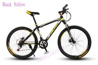 bmx bike - Mountain bike bicycle mountain bike double disc shock absorption variable speed mountain bike