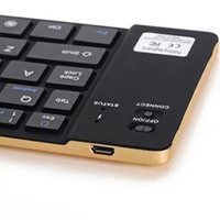 android tablet keypad - Ultra Thin Bluetooth Wireless Foldable Keypad Keyboard For iOS Android Smartphone Tablet Laptop Iphone S C S S4 S5