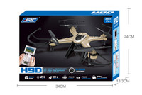 Wholesale JJRC H9D G Real time Video Transmission of Four Axis Aircraft UFO FPV Quadcopter drone With MP Camera