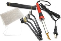 Wholesale New W Electric Soldering Iron Plastic Welding Kit TPO TEO PP Rod Mesh Auto Car Welder