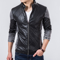 brand winter jacket for men - 2014 Top Quality New Autumn Winter Boutique Jeans Jacket Brand Leather Jacket Men Casual denim Jackets For Man Outdoors Coat