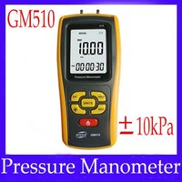 Wholesale Handheld digital differential pressure gauge GM510 with LCD display