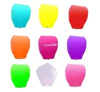 balloon form - Sky lantern wishing lantern hot air balloon fly to the sky water form with fuel