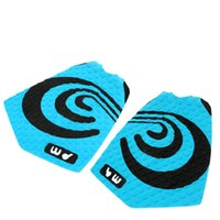 Wholesale New Blue Surfboard Deck Grip Tail Traction Pad EVA Surfing Foot Pad Surfing Accessory