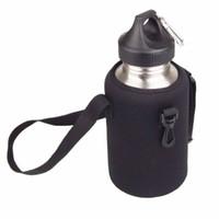 beaker holder - Neoprene L Water Bottle Sleeve Kettle Beaker Holder Wide mouth Carrier Outdoor Sports Cycling Hiking Y1008