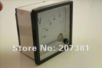 Оптово-1 PCS Новые аналоговые Вольт метр панели DC 0 ~ 100V *