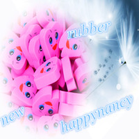 Wholesale NEW HQ Brand New Molar Shaped Tooth Rubber Erasers pink Dentist Dental Clinic School Great Gift