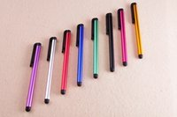Wholesale Capacitive Stylus Pen Touch Screen Highly sensitive Pen For ipad Phone iPhone Samsung Tablet Mobile Phone