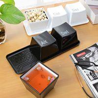 alt letters - Fun Life Black Keyboard Cup Set Include Ctrl Del Alt Drop Shipping Ceative Coffee Cup Mug Bluw Letter Coffee Mug Birthday Gift
