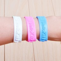 bug repellent - 2015 Anti Mosquito Bug Insect Repellent Bracelet wristband bangle Camping Mozzie Lock