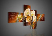 best red paint - Best selling product quality hand painted decorative oil painting on the canvas magical background Beautiful red flowers