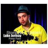 Wholesale Luke Jermay Poker Face only magic teaching video no gimmick card magicby dlmagic