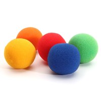 Wholesale Excellent quality cm Medium size Colorful Close Up Magic Street Classical Comedy Trick Soft Sponge Balls