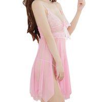 Wholesale S5Q Women Sexy Laces Floral Lingerie Underwear Babydoll Dress G string Sleepwear AAAFBH