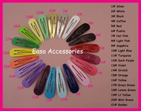 assorted led - 50PCS cm quot Assorted Colors Round Head Plain Metal Snap Clips No hole at nickle free and lead free BARGAIN for BULK