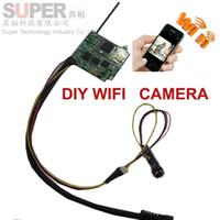Wholesale super mini size wifi camera wifi tramsitter camera wireless transmitter camera DIY CCTV security camera wifi generator by V