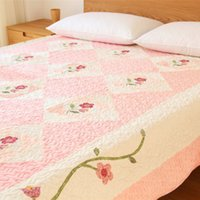 Wholesale Left ear Korea export trade of the original single warm winter thickened short plush quilted mattress linen mats