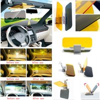 Wholesale HD Anti Glare Dazzling Goggle Day Car Sunshade Night Vision Driving Mirror Sun Visors