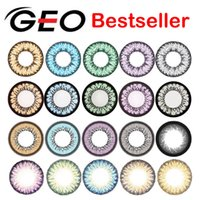 geo lens - GEO color contact lenses GEO Nudy Angel Wing Tricolor circle lenses authentic range of prescriptions ready stock