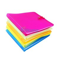 Wholesale 2 X CD DVD Disc Double Sleeve Holder Clear Storage Envelope Cases Bag Cover Plastic