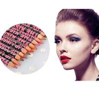 Wholesale 2015 New Hot Lip Liner Waterproof Lip Liner Pencil Pen Makeup Cosmetic lipstick Colors Long wear Freeshipping