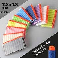 Wholesale 800pcs Nerf N strike Elite Rampage Retaliator Series Blasters Refill Clip Darts electric toy gun soft nerf bullet multicolor