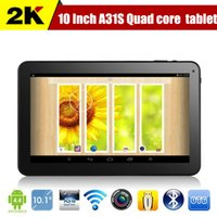 10 inch tablet - 10 inch tablet pc quot Quad core Tablet PC GHz Allwinner A31S Android Capacitive GB GB Dual Camera HDMI Bluetooth USB OTG Tablets