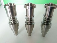 16mm - BOSS TITANIUM mm in adjustable Highly Educated Grade Titanium Domeless E Nail Nail for mm or mm Enail Coil