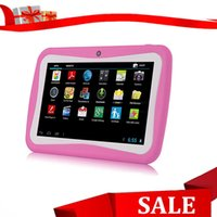 Wholesale Hot sale children tablet PC with Android OS RK3026 CPU wifi MB GB storage