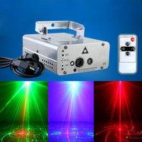 Wholesale Remote Control Laser Light Home KTV Voice Activated Disco Projector Light Bar Strobe Laser Stage Light
