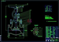 Wholesale DN150 valve drawings Full Machining drawings