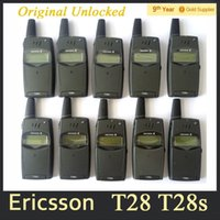 Wholesale Original unlocked Ericsson T28 T28sc Mobile Phone Network GSM Phone Ericsson T39 Flip Cell Phone Refurbished