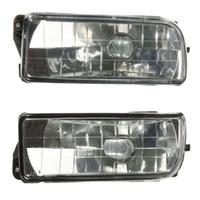 Wholesale Pair Front Bumper Fog Lights Clear Glass Len For BMW E36 Series i