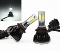 Wholesale car light COB LED Conversion Headlight w lm DC v H1 H3 H7 H8 H9 H11 K