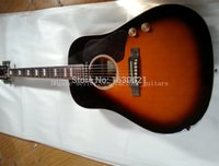 Wholesale OEM factory guitars Chibson J160E acoustic guitar John Lennon edition J160 acoustic electric guitar with old style acoustic