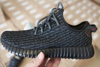 Wholesale With Box Top Original Quality Yeezy Boost Pirate Black Low Outdoor Shoes Sneaker Basketball Shoes Footwear Accepted dropshipping