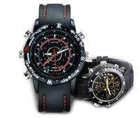 avi digital - Hot sell built in GB Waterproof Watch Hidden camera Digital watch camera Video Camera x960 AVI Mini Camcorder DVR retail box free ship