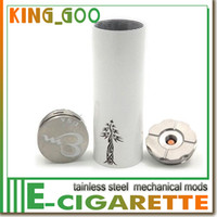 battery reaction - Electronic Cigarette Timber Mod Clone full Mechanical Mod fit with battery VS SHIELD DNA S chain reaction Dimitri mod