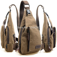 Wholesale New Men Messenger Bags Sport Canvas Male Shoulder Bag Casual Outdoor Travel Hiking Military Messenger Bag LX B9076