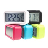 Wholesale New Digital Clock with LED Light Smart Snooze Alarm Clock Multi function with Snooze Back light Calendar