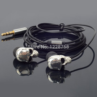 ipods for sale - New Hot Sale Cool Skull Heads mm Port Metal Headset Earphones MP3 Fit For iPads iPods D0769 P
