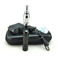 Single Black Metal Fashionable Electronic Cigarette Kits X6 Battery V2 Travel e Cigarette V2 Atomizer With Retail Box DHL Free Shipping