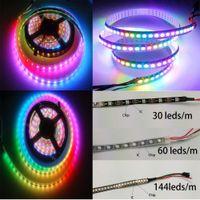 Wholesale WS2812B RGB LED Strip M Leds LED M Individual Addressable V