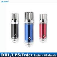 Wholesale DHL Fedex UPS The Most Popular Mini Car Air Purifier Car impulse anion oxygen bar JO