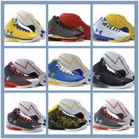 Wholesale High Quality New Arrived Charged Foam MVP Candy Reign Home Stephen Curry One Away mens basketball shoes Dark Matter