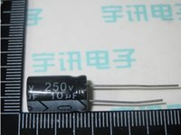 Wholesale UF V electrolytic capacitor V UF MM microfarad capacitors